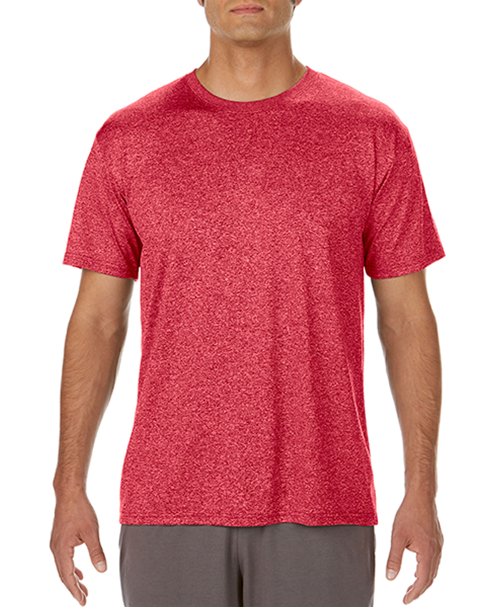 heather sport scarlet red