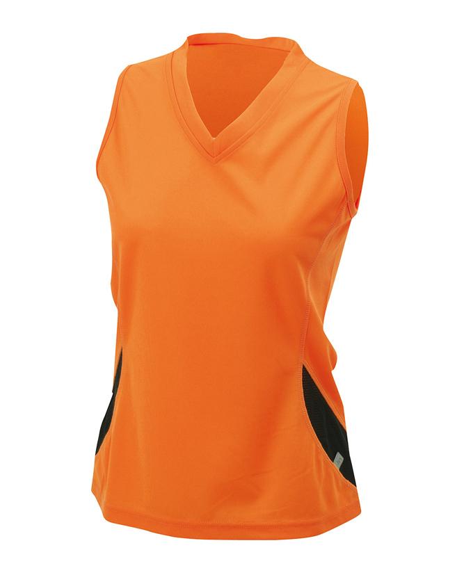 orange- black