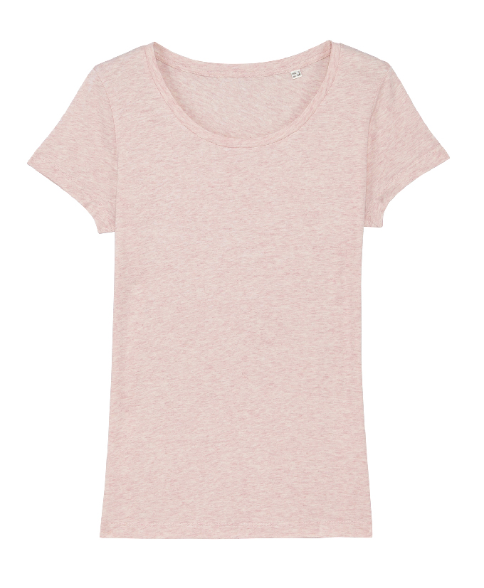 cream heather pink
