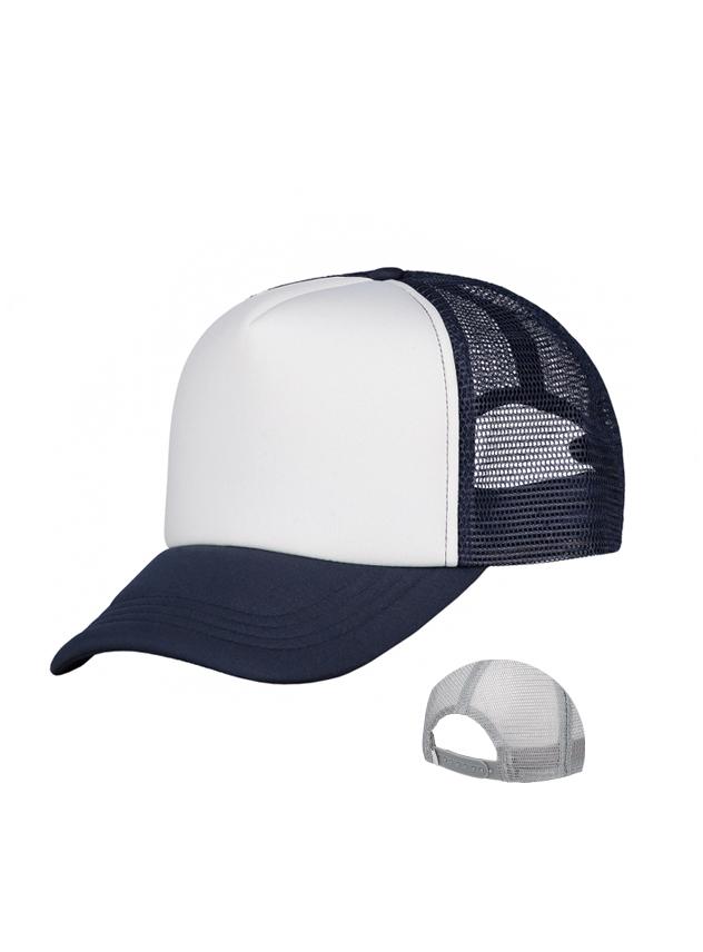 navy - white
