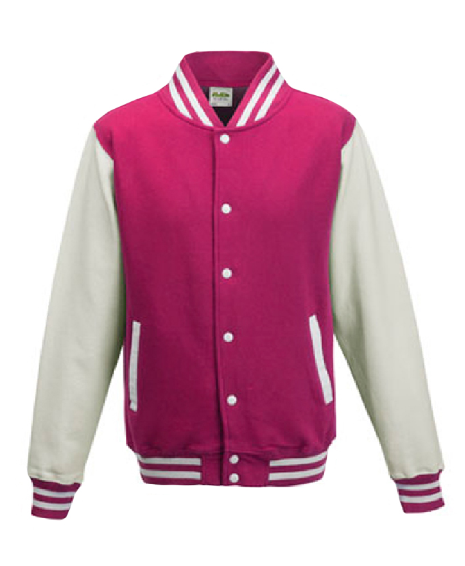 Hot Pink - White