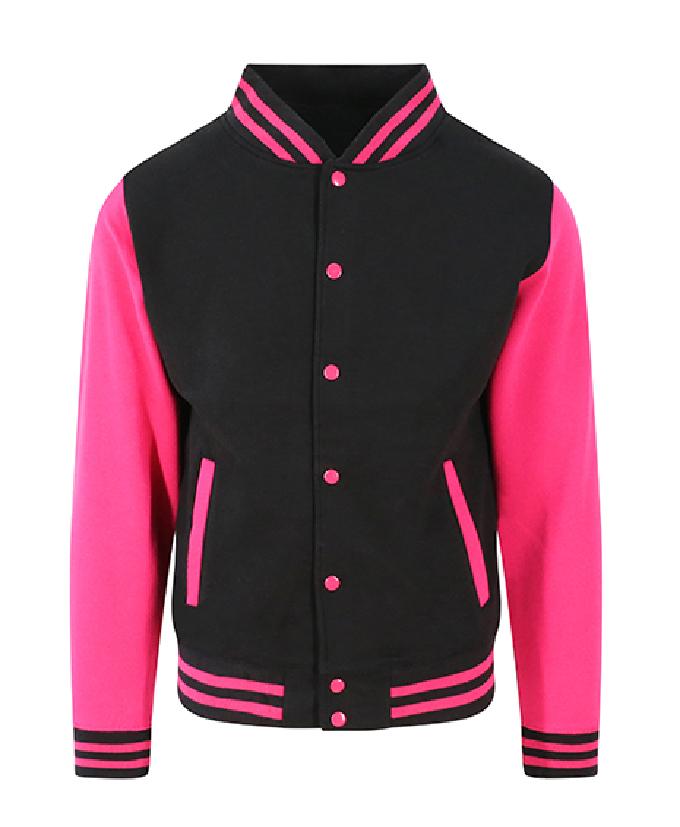 Jet Black - Hot Pink