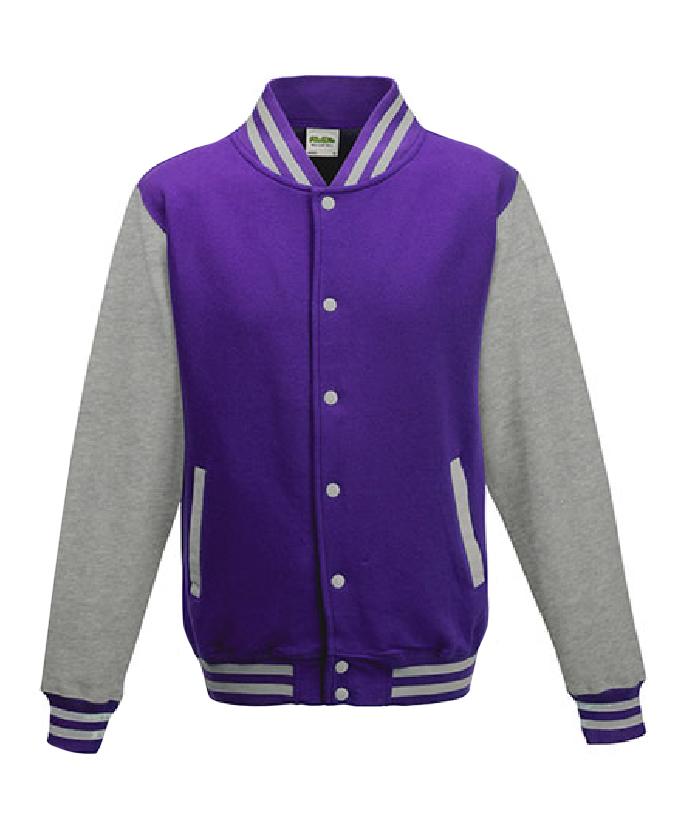 Purple - Heather Grey