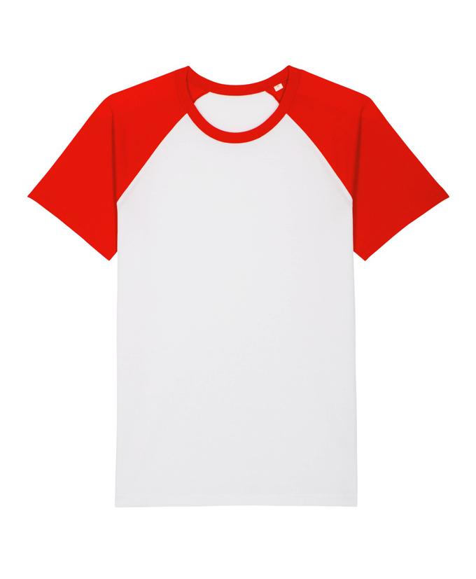 White - Bright Red