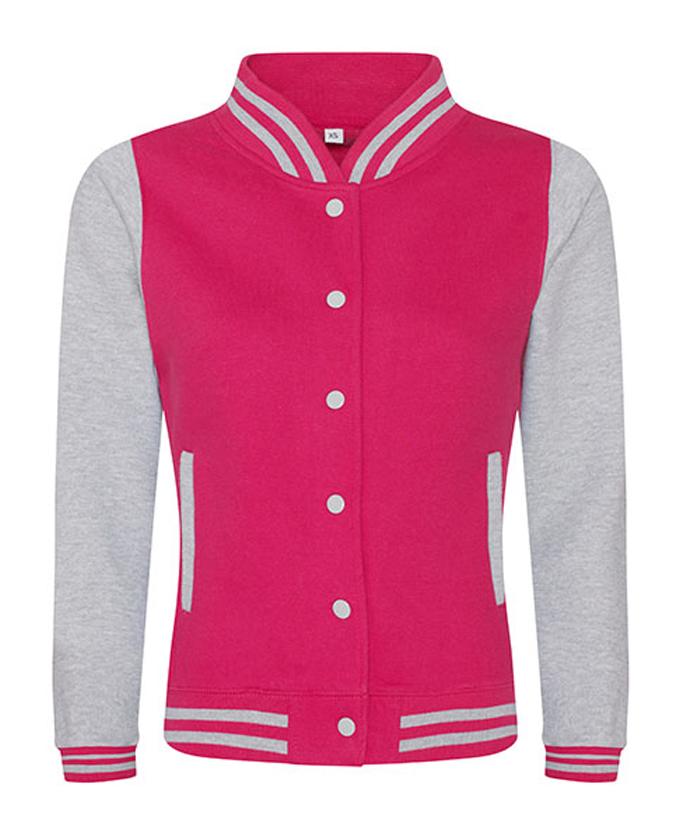 Hot Pink - heatehr grey