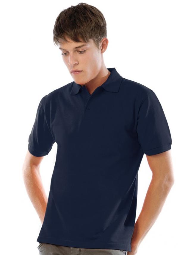 Poloshirt B&C Heavymill