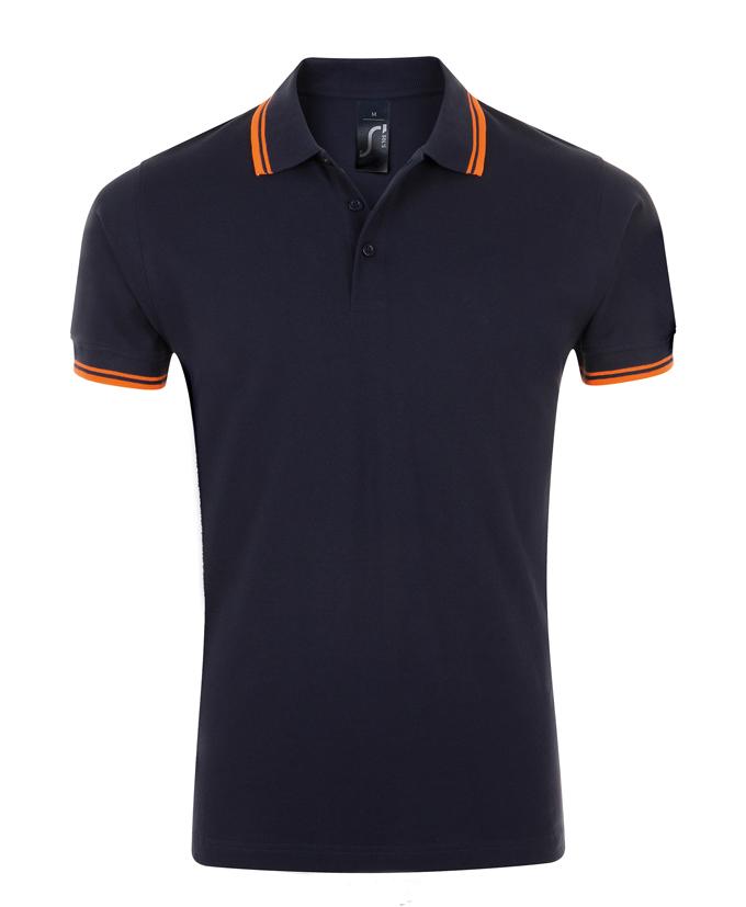 French Navy - Neon Orange