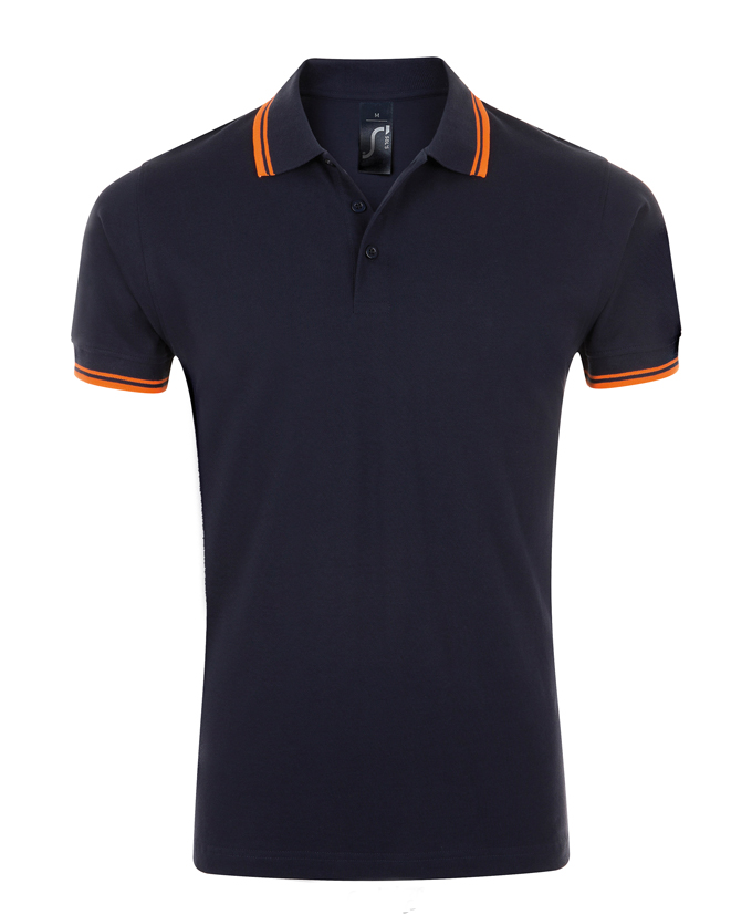 French Navy - Neon Orange