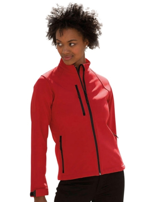 Softshell Jas dames Russell 140F