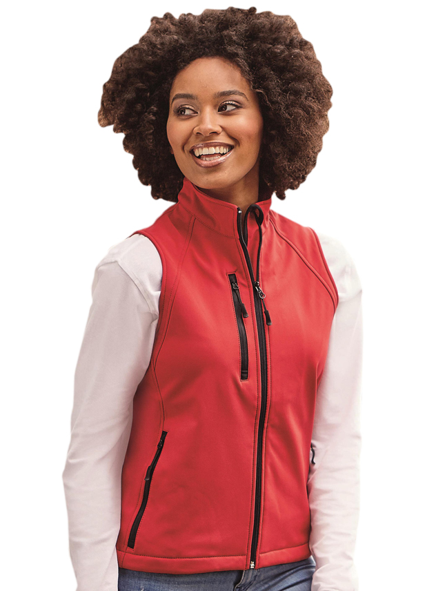 Softshell Jas dames Russell Gilet  141F