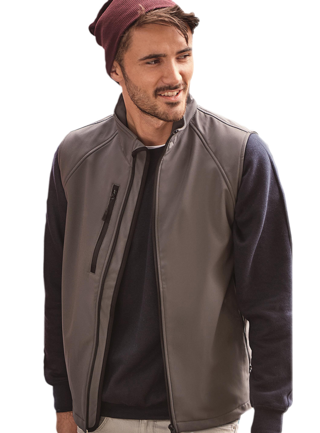 Softshell Jas Russell Gilet 141M