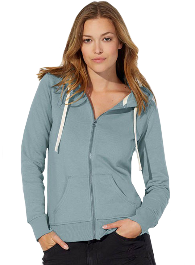 Sweater dames Stella Travels Hooded zip