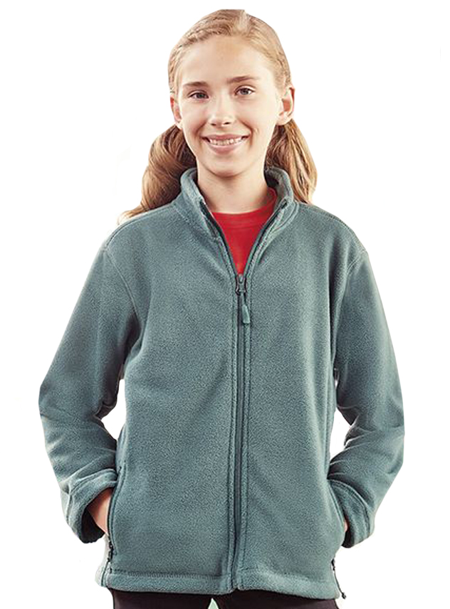 Fleece kinder Russell 870B hele rits