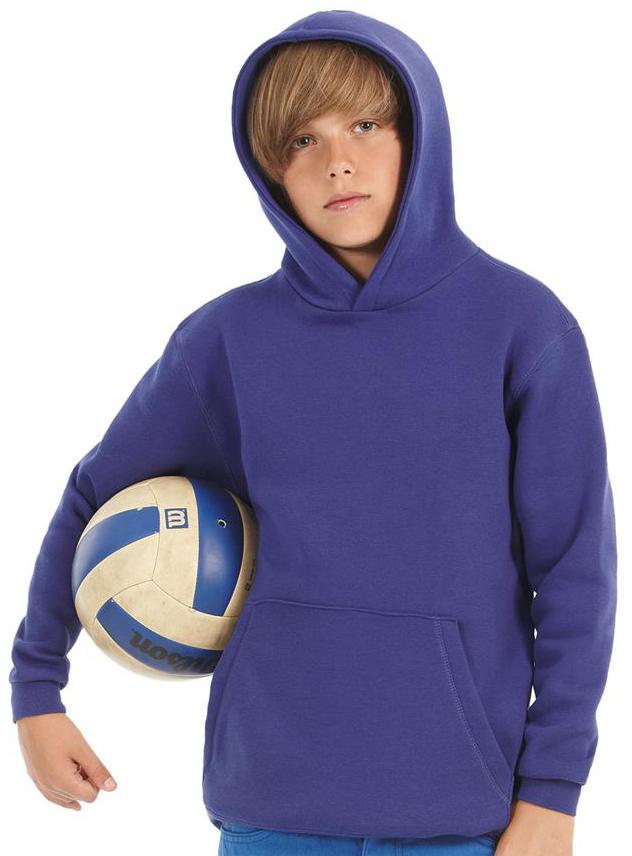 Sweater kinder B&C Hooded
