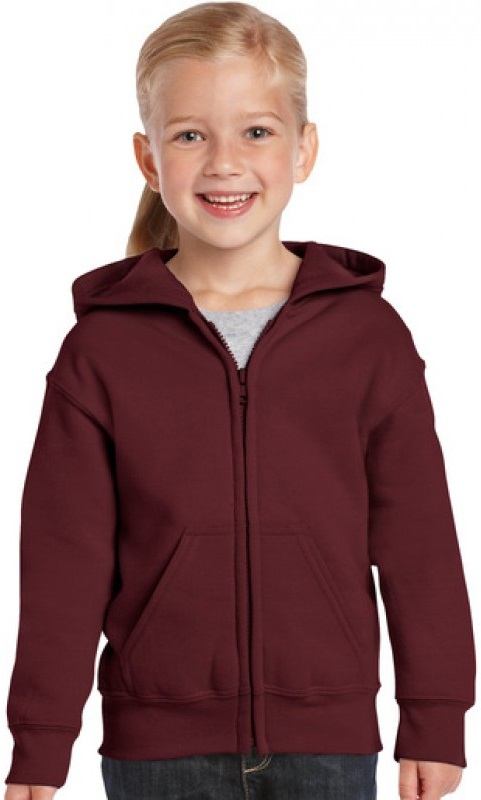 Sweater kinder Fruit Hooded hele rits