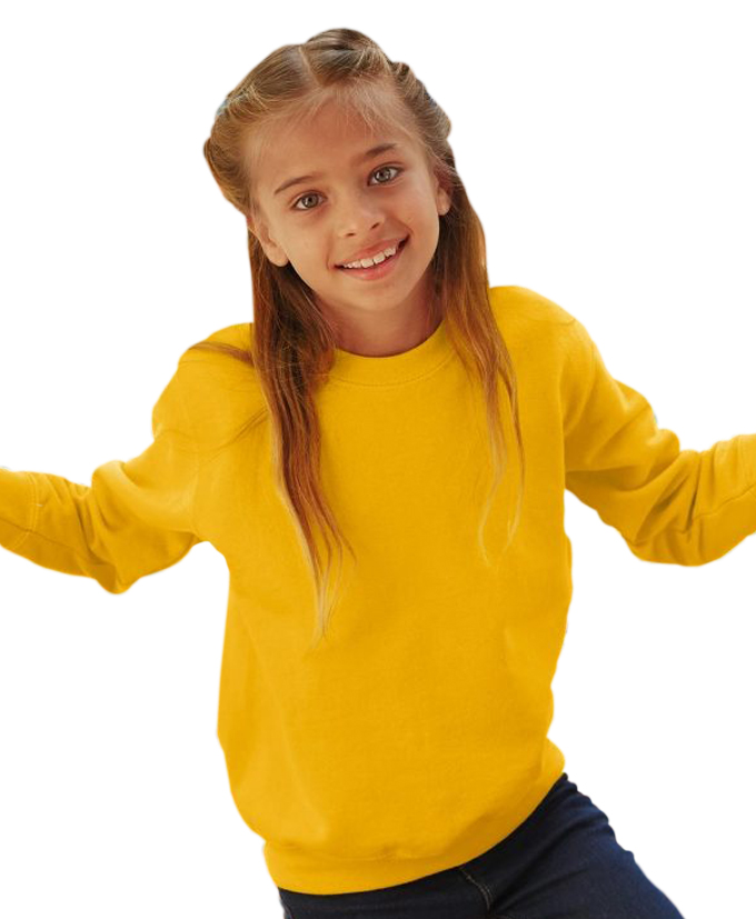Sweater kinder Fruit ronde hals