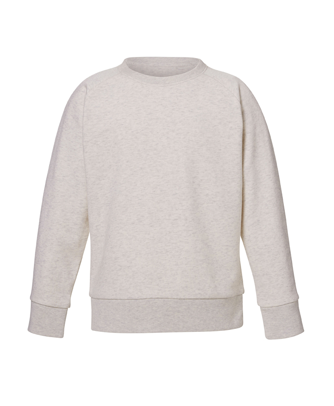cream heather grey