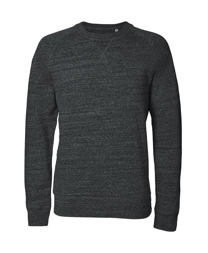 slub dark heather grey