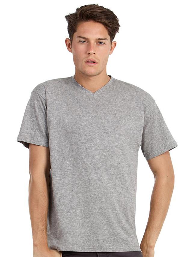 T-shirt B&C Exact V-hals