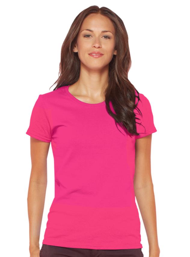 T-shirt dames Gildan 4100L