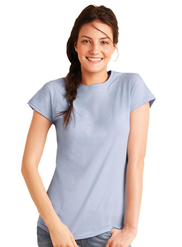 T-shirt dames Gildan 64000L