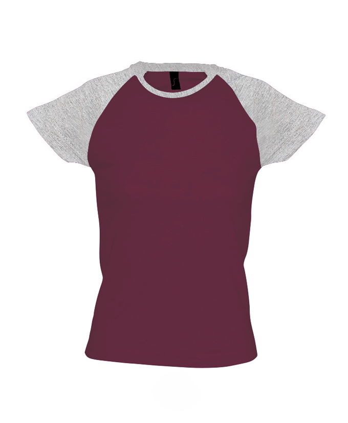 burgundy-grey melange