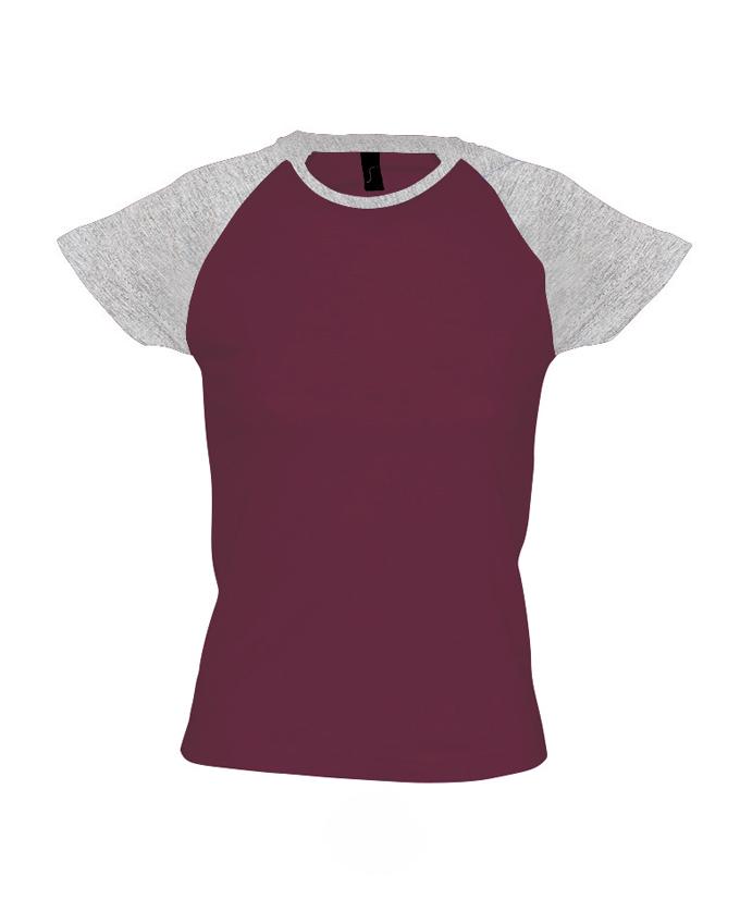 burgundy-grey melange