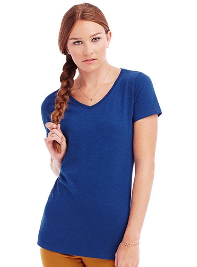 T-shirt dames STE 9510 Slub