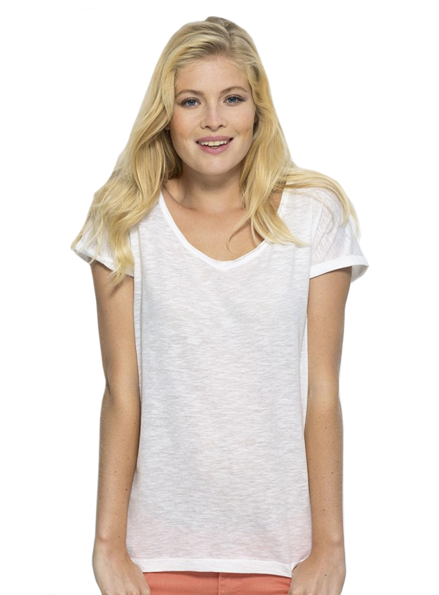 T-shirt dames Stella Invents Slub