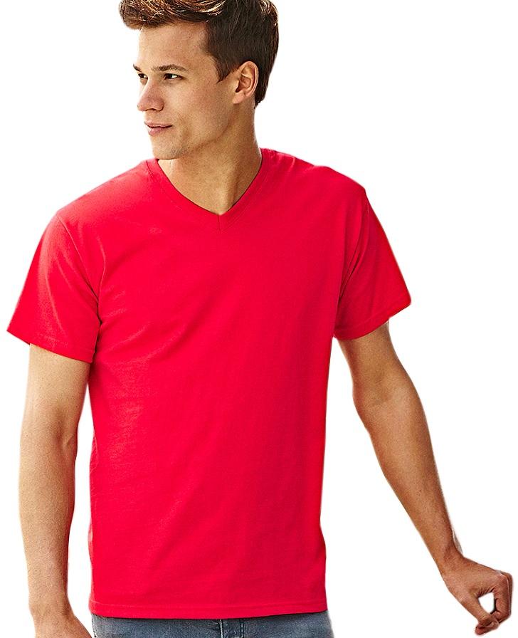 T-shirt Fruit Valueweight  V-hals