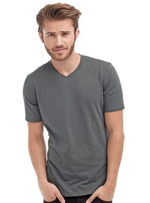 T-shirt heren STE 9610 V-neck Lycra