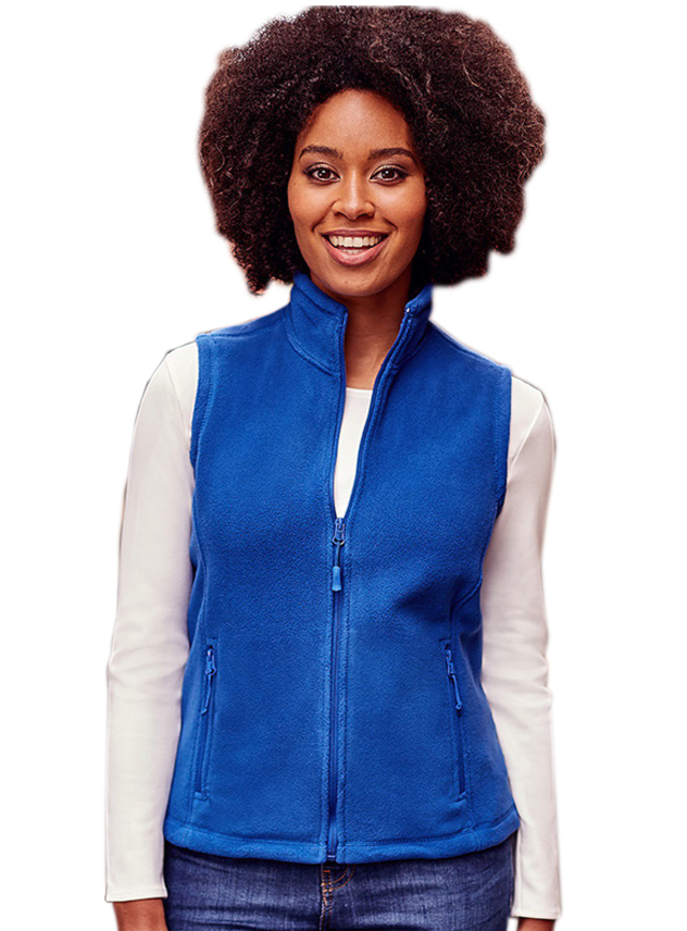 Fleece Vest dames Gilet Russell 872F