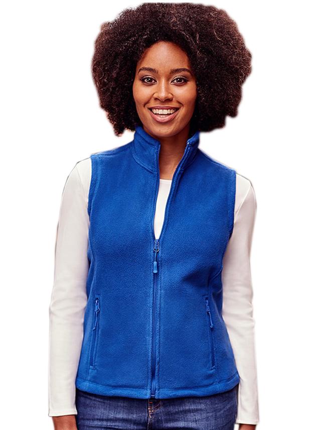 Fleece Vest dames Gilet Russell 872F