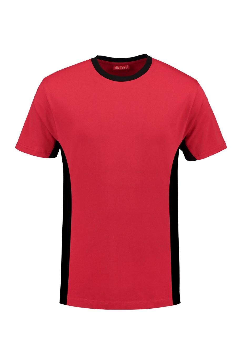 red - black
