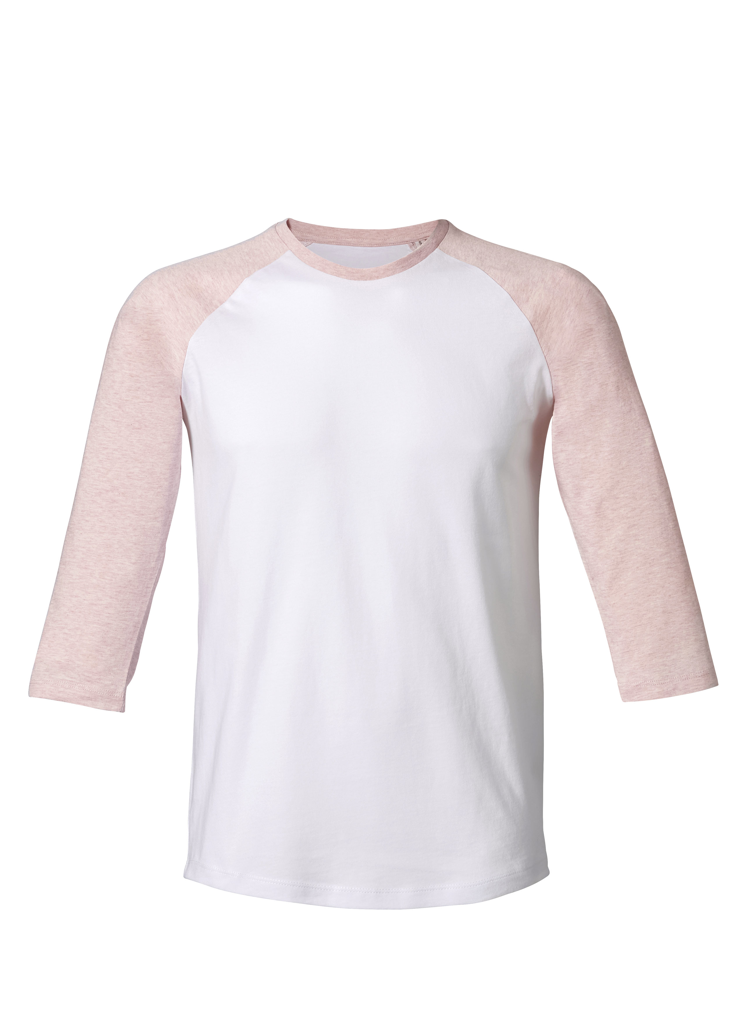white - cream heather pink