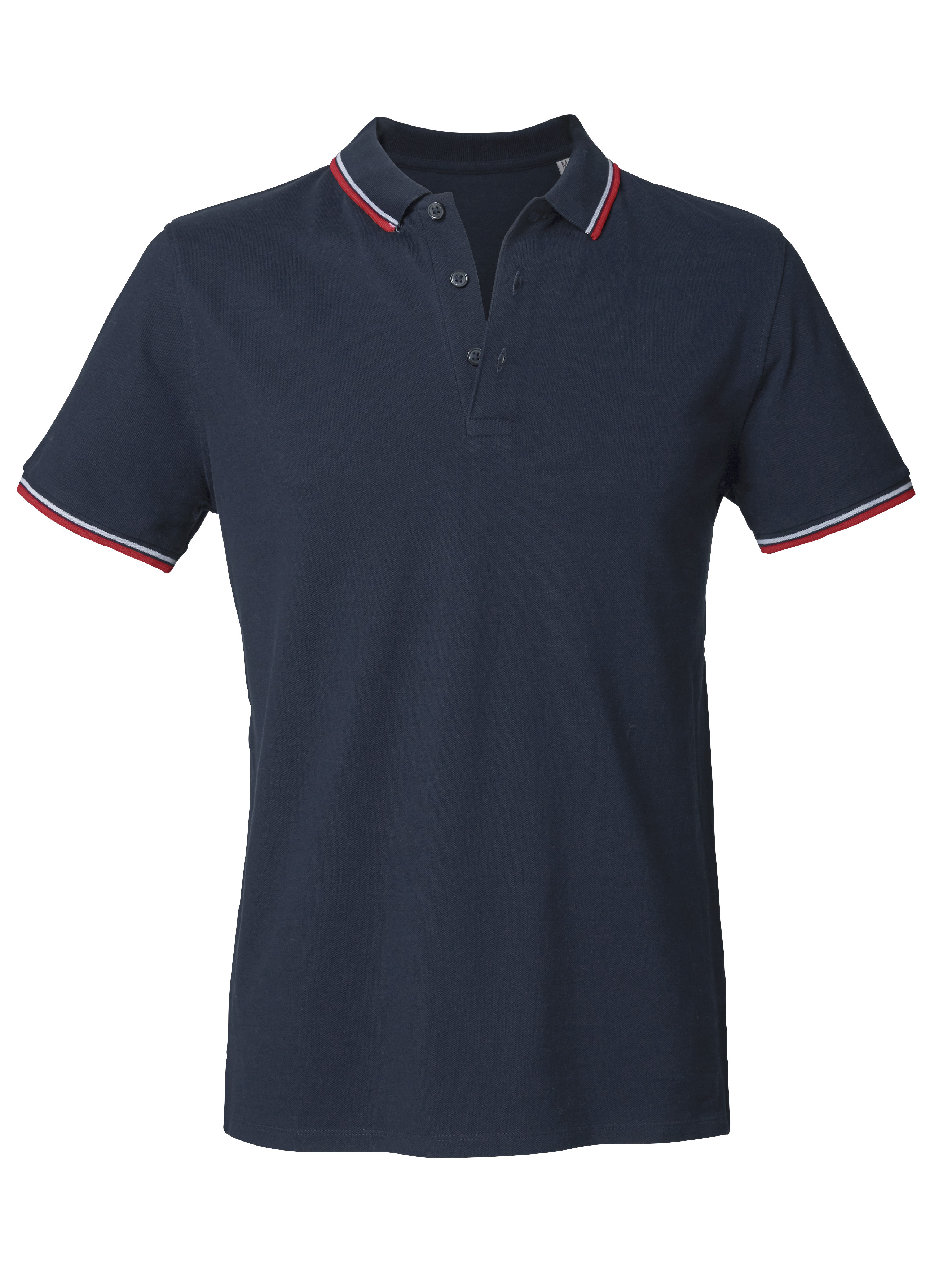 French Navy - White - Red