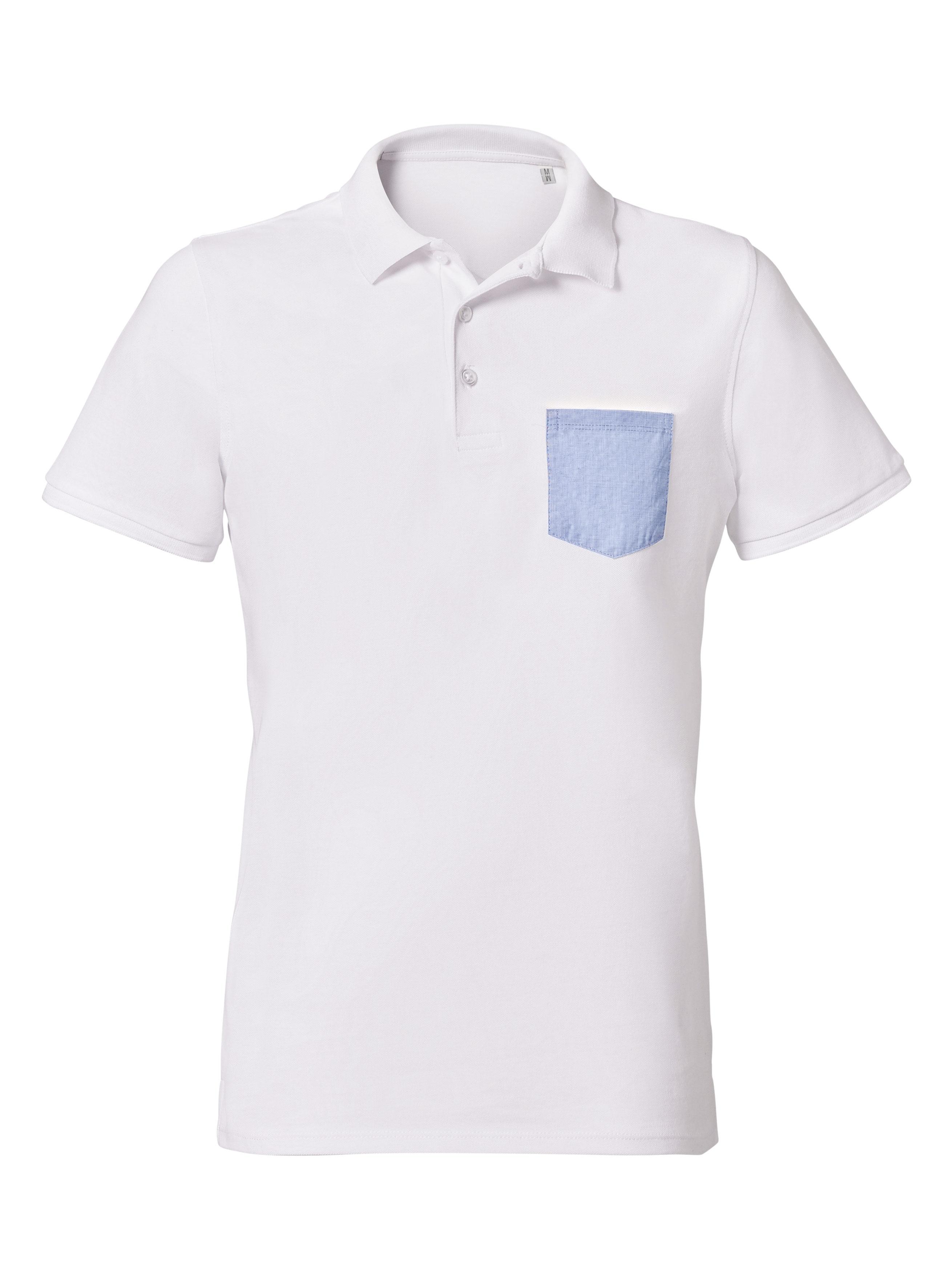 white - blue fil à fil