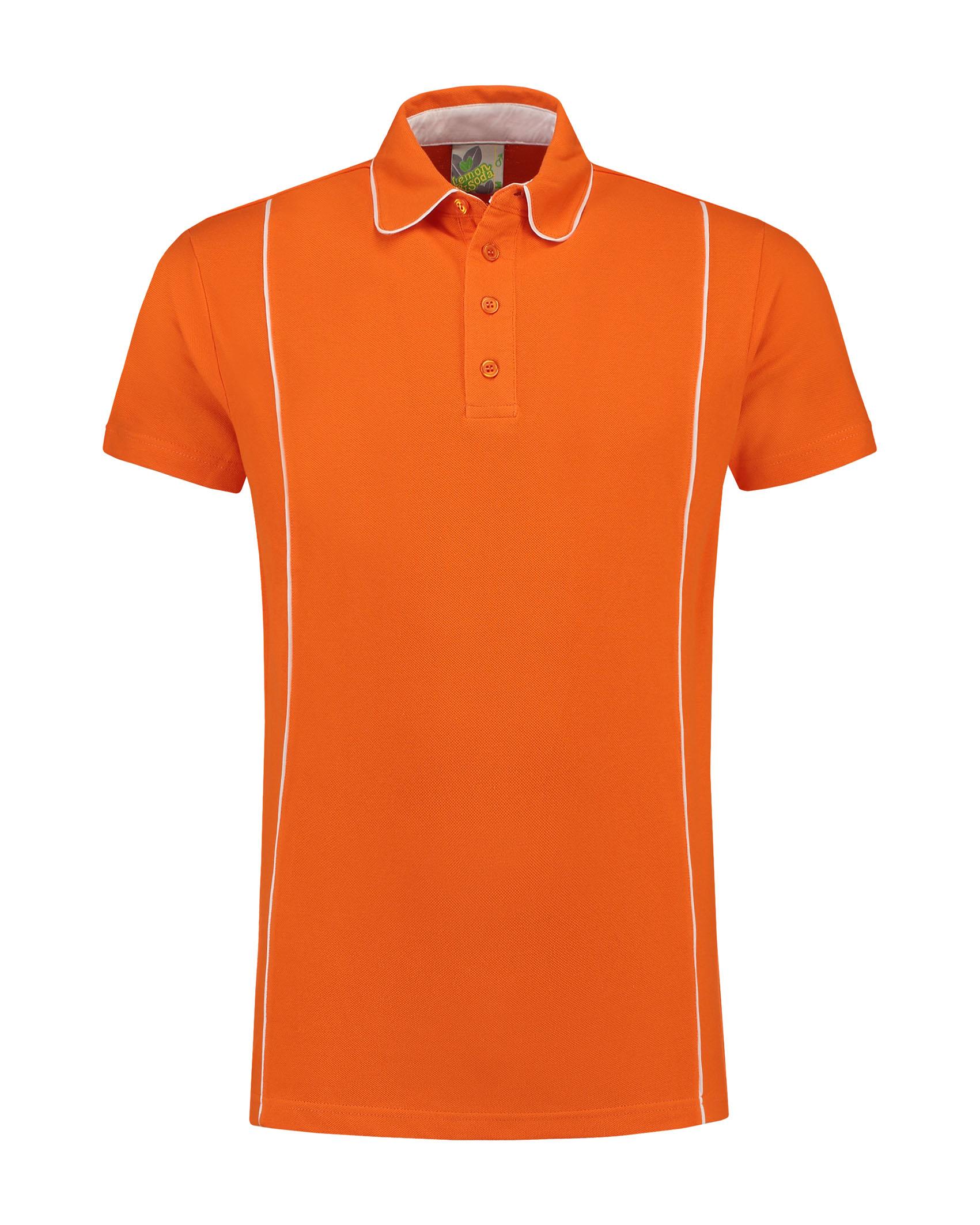 orange - white