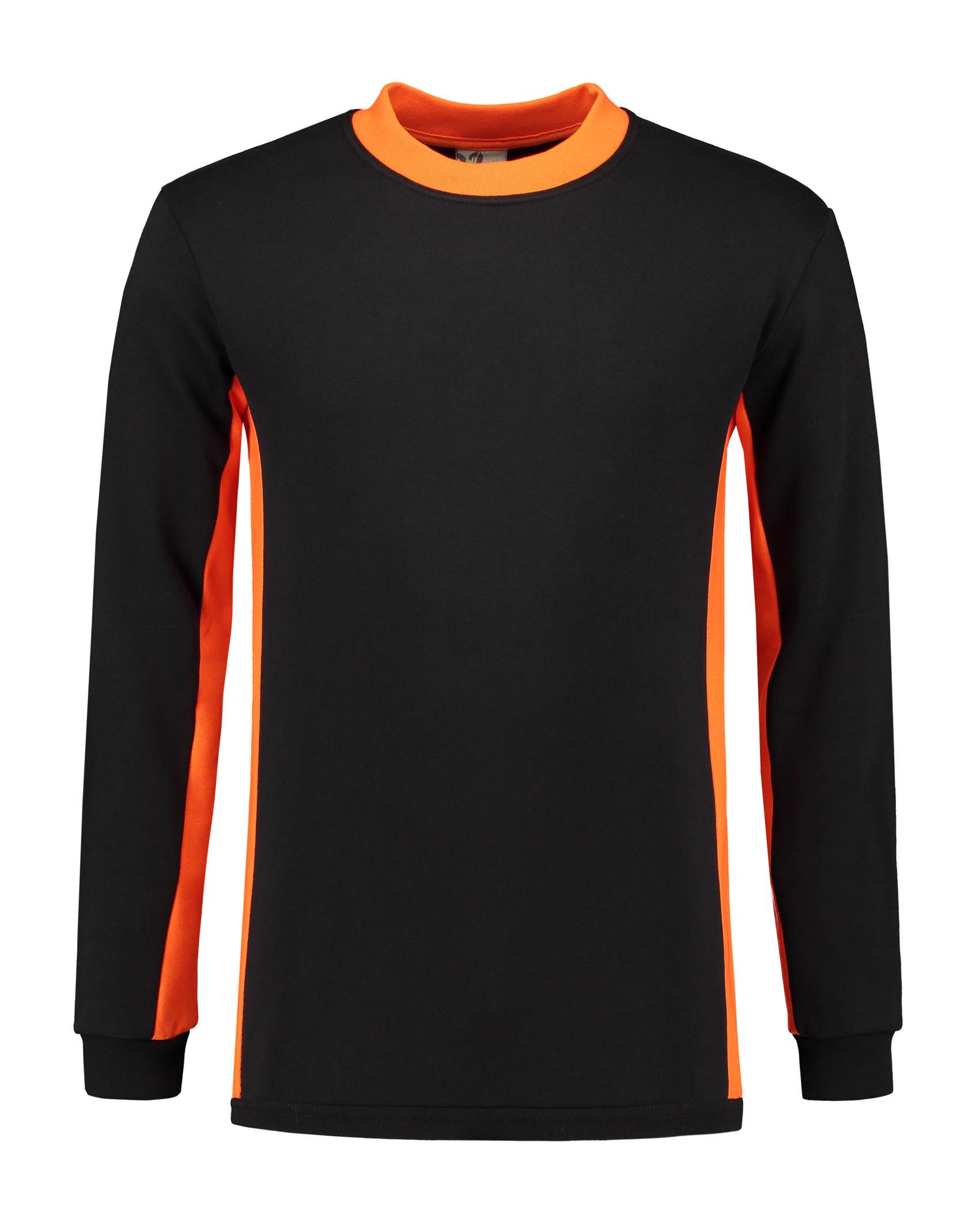 black - orange